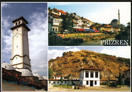 1 AK Kosovo * Ansichten Der Stadt Prizren Dabei Ist Auch Der Uhrturm (Sahat Kula) über Dem Archäologischen Museum * - Kosovo