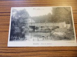ROMILLY PONT DES ABATTOIRS 1904 - Romilly-sur-Seine