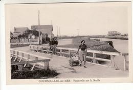 Courseulles Sur Mer - Passerelle Sur La Seulle - Courseulles-sur-Mer