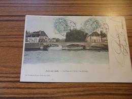 ARCIS SUR AUBE LE PONT DE L AUBE VUE DE FACE 1905 - Arcis Sur Aube
