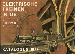 Cataogue HEMA 1977 Elektrische Treinen In De Hema ( LIMA ) HO 1:87 - Nederlands