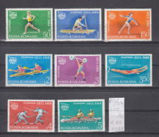 39K120 / 1988 - Michel  Nr. 4475/82 - Olympic Games Seoul  II - Canoe Fencing Weightlifting    ** MNH Romania Roumanie - Unused Stamps