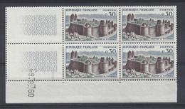 FOUGERES N° 1236 - Bloc De 4 COIN DATE - NEUF SANS CHARNIERE - 9/9/60 - 1960-1969