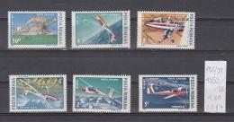 39K102 / 1987 - Michel  Nr. 4353/58 - AIR AIRPLANE ** MNH Romania Rumanien Roumanie Roemenie - Unused Stamps