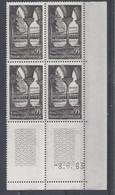 ABBAYE De MOISSAC N° 1394 - Bloc De 4 COIN DATE - NEUF SANS CHARNIERE - 8/6/63 - 1960-1969