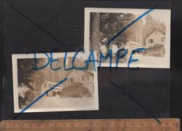X2 Photos Photographie Photo  Maison Forestière De VIZZANOVA Vivario Haute Corse 1962 - Places