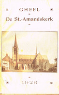 """GHEEL - BOEKJE """"DE ST.-AMANDSKERK"""" - 1928 - Geel"""