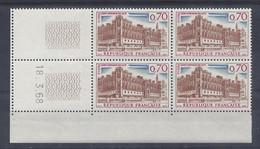ST-GERMAIN En LAYE N° 1501 - BLOC De 4 COIN DATE - NEUF SANS CHARNIERE - 18/3/68 - 1960-1969