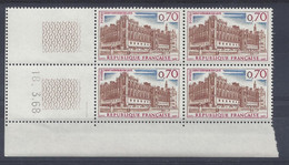 ST-GERMAIN En LAYE N° 1501 - BLOC De 4 COIN DATE - NEUF SANS CHARNIERE - 18/3/68 - 1 Trait - 1960-1969