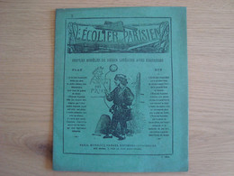 CAHIER DESSIN L'ECOLIER PARISIEN N° 5 - Book Covers