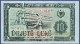 ALBANIA - P.43 –  10 LEKE 1976  UNC - Albania