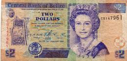 BELIZE  2 DOLLARS 1999 - Pick 60a - Belize