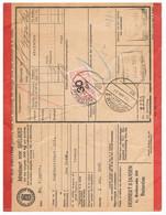 Spoorweg Adreskaart Rotterdam 1937 30 Cent Geel - Tren