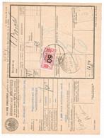 Spoorweg Adreskaart Rotterdam 1939 50 Cent Geel - Tren