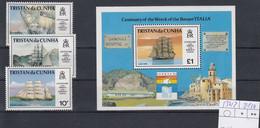 Tristan Da Cunha Michel Cat.no. Mnh/** 530/532 + Sheet 24 - Tristan Da Cunha