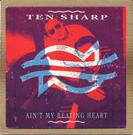 "7"" Single, Ten Sharp - Ain't My Beating Heart - Disco, Pop"