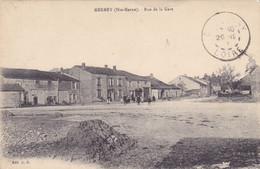 (21)   MERREY - Rue De La Gare - Altri Comuni