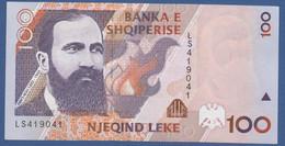 ALBANIA - P.62 –  100 LEKE 1996  UNC Prefix LS - Albania
