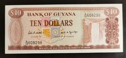 GUYANA 10 DOLLARI - Guyana