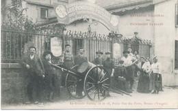 88 - EPINAL : ENTREPOT DES VIGNERONS PAYSANS : La Grande Entrée , 16 Et 18 , Petite Rue Des Forts . - Epinal