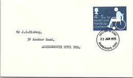 GREAT BRITAIN - FDC 22.1.1975   /2 - 1971-1980 Dezimalausgaben