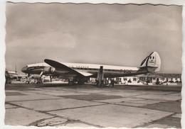 Cpsm  13 ( Marseille-Marignane ) Air-France Lockheed Super Constellation - 1946-....: Modern Era