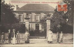 Environs De La Rochelle , LA JARNE , Château De Champagné , CPA ANIMEE - Other Municipalities