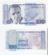 Armenien  100 Dram 1998 UNC - Armenia