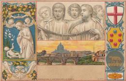 FIRENZE-BELLISSIMA CARTOLINA IN RILIEVO NON VIAGGIATA -ANNO 1900-1904 - Firenze (Florence)