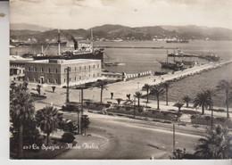 LA SPEZIA MOLO ITALIA  VG 1958 - La Spezia