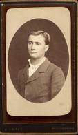 CDV Portrait Homme E. Amiaud La Roche-sur-Yon Vers 1885 - Antiche (ante 1900)
