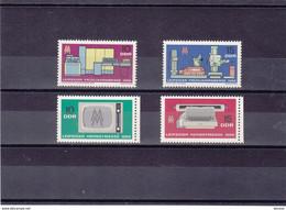 RDA 1966 FOIRE DE LEIPZIG Yvert 856-857 + 907-908 NEUF** MNH - Ongebruikt