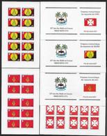 WALLIS & FUTUNA : Lot Carnets C652 + C654 + C657 N** Non Pliés (cote 51,oo €) - Booklets