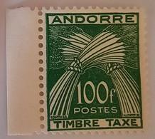 C - ANDORRE FRANÇAISE TAXE N°41** (cote 147) - Neufs