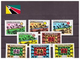 Mozambique 1975 - MNH** - Indépendance - Michel Nr. 594-601 Série Complète (moz027) - Mozambique