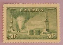 "CANADA YT 242 NEUF(*) ""PUITS DE PETROLE EN ALBERTA"" ANNÉES 1950/1951 - Nuevos"