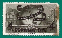 España. Spain. 1949. Edifil # 1065. LXXV Aniversario De La Union Postal Universal - 1931-50 Gebraucht