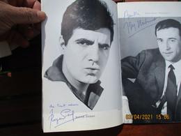 Jean Marc Thibault , Roger Pierre Maria Mauban Perrette Pradier Autographe Sur Programme  De Theatre - Autogramme & Autographen