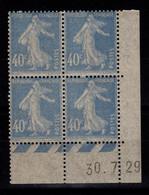 Coin Daté - YV 237 N** Semeuse Du 30.7.29 , Papier Bizarre : Surface Comme Du Papier Journal - ....-1929