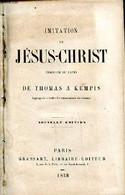 Imitation De Jésus Christ Nouvelle édition - Collectif - 1858 - Cultural