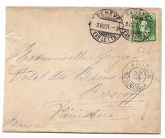 116 - 28 - Enveloppe Envoyée De Genève En France 1891 - Briefe U. Dokumente