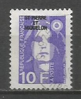 Timbre St Pierre Et Miquelon Oblitere   N 526 - Gebruikt