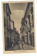 W020 - AVERSA CORSO UMBERTO I ANIMATISSIMA 1930 CIRCA - Aversa
