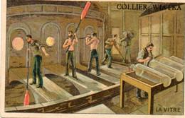 Chromo - COLLIER WIATKA  - La Vitre - Fabrication Du Verre - Scan Du Verso - Maladie Du Croup - Barlerin - Grivot Martin - Other