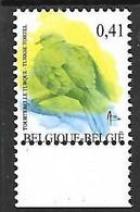 OCB Nr 3135 Fauna Buzin ERROR - MNH !!! - 1985-.. Pájaros (Buzin)