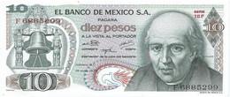 México 10 Pesos 15-5-1975 Pk 63h 6 SIN CIRCULAR Ref 1762-1 - Mexico