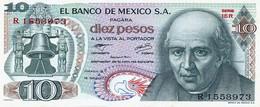 México 10 Pesos 15-5-1975 Pk 63i 2 SIN CIRCULAR Ref 1764-1 - Mexico