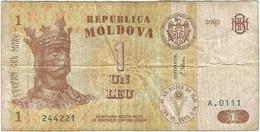 Moldavia - Moldova 1 Leu 2005 Pk 8f Ref 2208-2 - Moldova