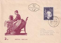 AUTRICHE 1950 FDC   DE WIEN - FDC