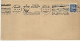 Clear Envelope With Commemorative Cancellation Football Final AC. Sparta-FK.Austria 1936. Mi 277. - Storia Postale